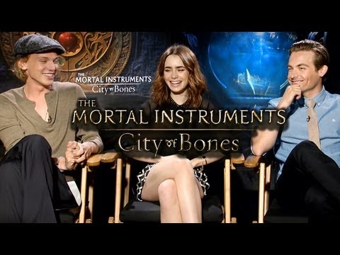 The Mortal Instruments: City of Bones- MAIN CAST (Interviews)