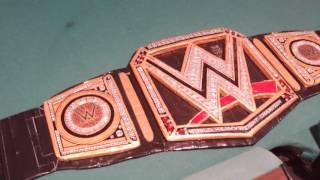 Custom WWE World Heavyweight title - CDC customs