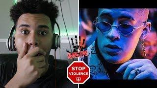 Reaccion Solo De Mi Bad Bunny Audio Oficial