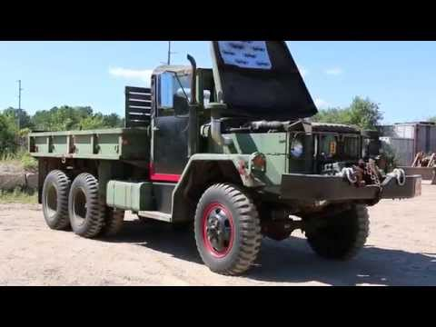 1970 M35A2 2.5 Ton Kaiser Jeep Deuce And A Half 6x6 Military Cargo Truck