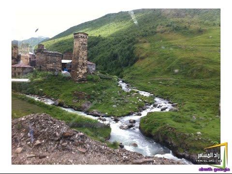 رائع و جمال طبيعة القوقاز 4K