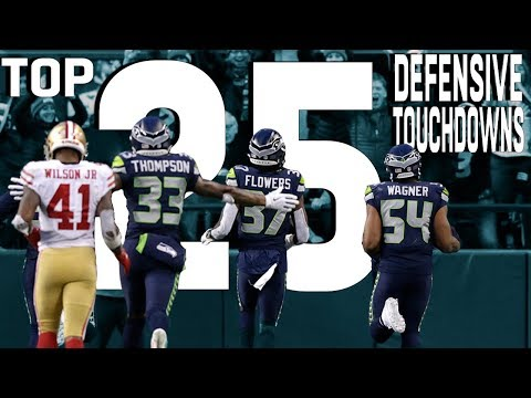 Top 25 Defensive Touchdowns of the 2018 Season!  NFL Highlights