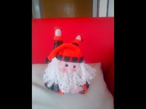 Papa Noel en Pijama Paño Lency
