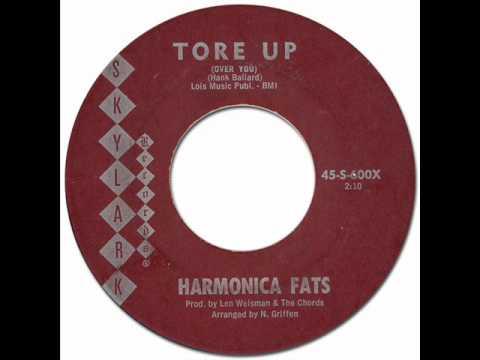 60's Mod R&B * TORE UP (Over You) - Harmonica Fats [Skylark #600] 1962