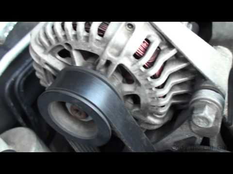 Changing the serpentine belt on chevy malibu 3.5