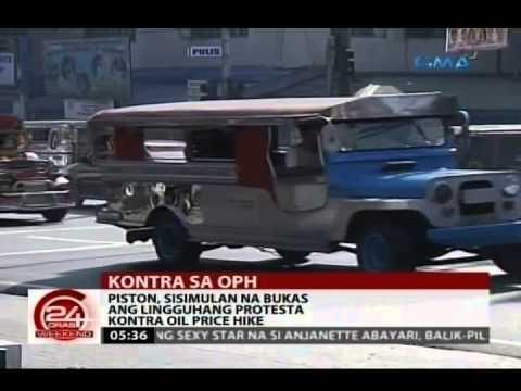 24 Oras: Piston, magkikilos-protesta kontra oil price hike