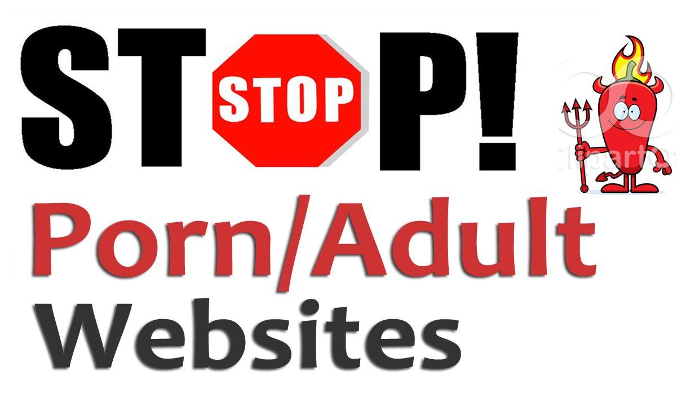Block adult web site