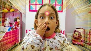 Maria Clara e uma história engraçada sobre uma enorme espinha - MC Divertida