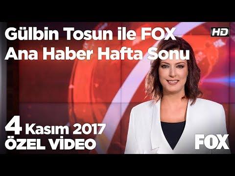Kadın terörist böyle teslim oldu! 4 Kasım 2017 Gülbin Tosun ile FOX Ana Haber Hafta Sonu