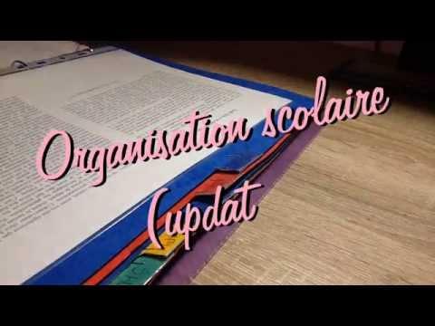 Organisation scolaire (update) !!