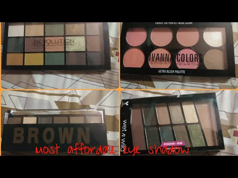 BEST MAKEUP EYESHADOW PALLET IN AFFORDABLE PRIZE FOR BEGINERS