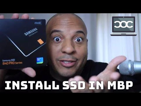 Upgrade A MacBook Pro to SSD The Fast Way