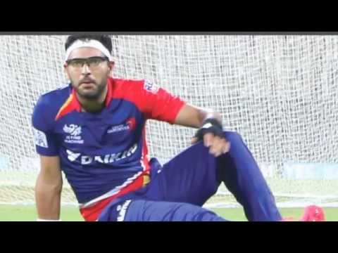 Yuvraj Singh ties up with Delhi Daredevils for cancer awareness