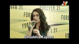 Aashiqui 2 - Shraddha Kapoor Launches Forever 21 Store | Hindi | Aashiqui 2, Aditya Roy Kapur, Sidharth