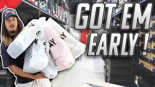 GOT EM EARLY !!! EVERYONE FORGOT ABOUT THESE !!! HUGE SNEAKER AND CLOTHING HAUL !!! NEW OFFICE ?