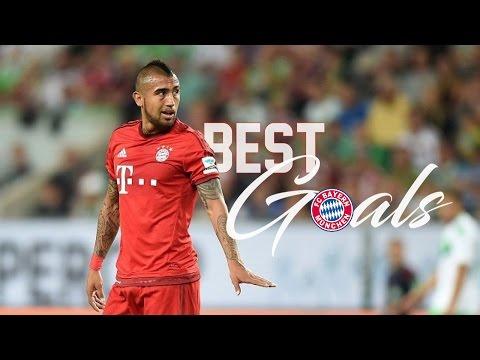 ● Arturo Vidal ● Goals Bayern