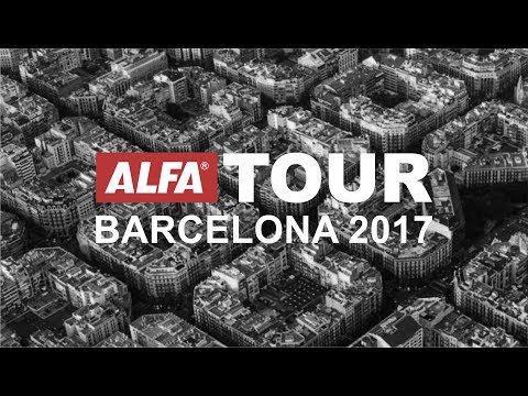 Alfa Tour Barcelona 2017