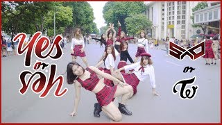 "[KPOP IN PUBLIC] TWICE ""YES or YES"" dance cover by S.A.P from Vietnam"