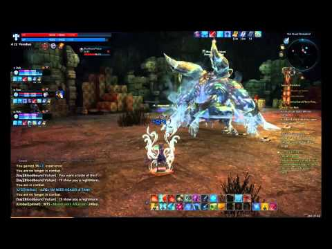 Tera Online quest dungeon lv 20- Boss vs Draft/Feat/Nofx/Veredian