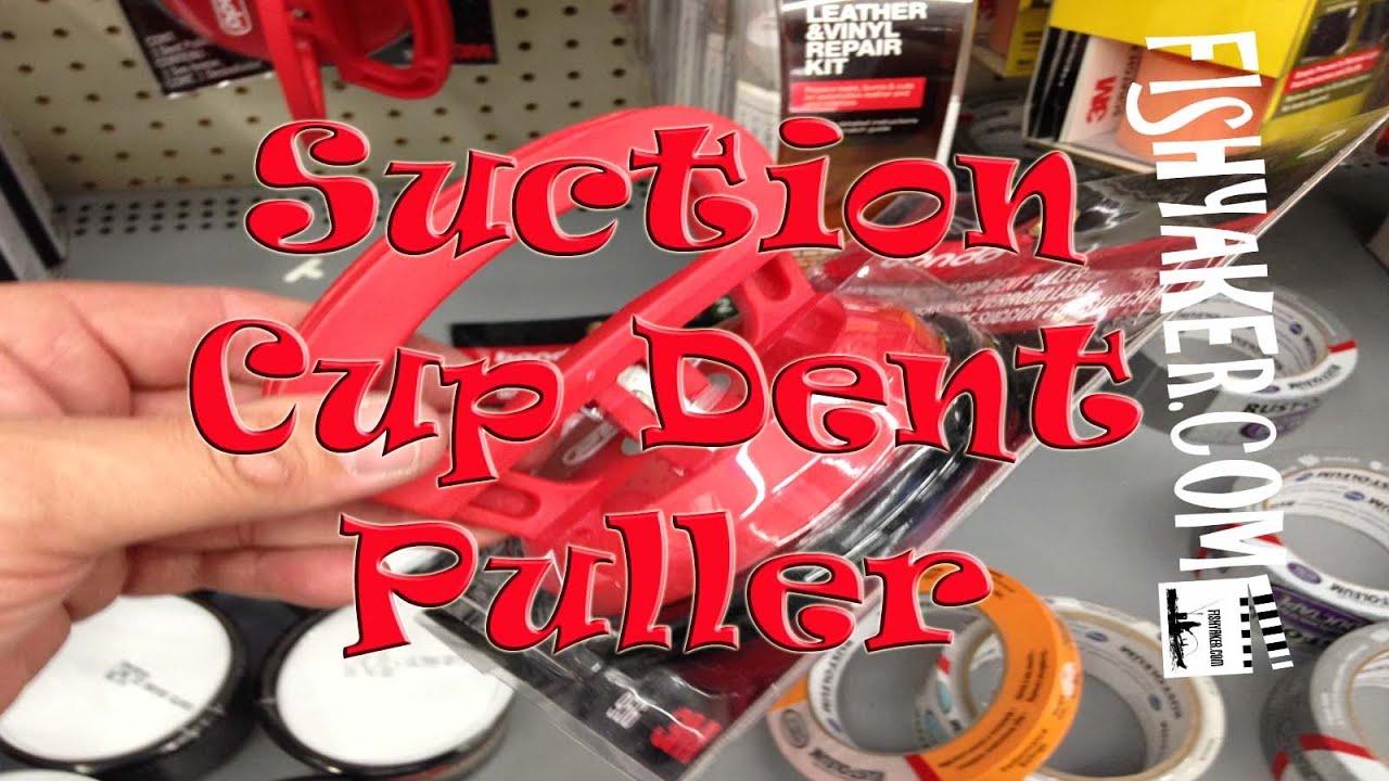Walmart Bondo Suction Cup Dent Puller for Repairing Kayaks  Episode 323