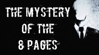 The Mystery Of The 8 Pages(Kısa Film) | Slender man and Outlast real life