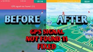 POKEMON GO GPS SIGNAL NOT FOUND (11) FIXED