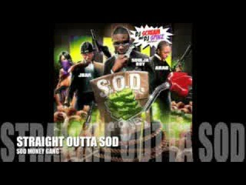 SOD Money Gang - SB , JBar & Arab Video