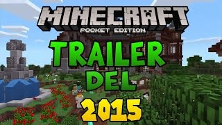 "TRAILER ""MINECRAFT POCKET EDITION"" DEL 2015"
