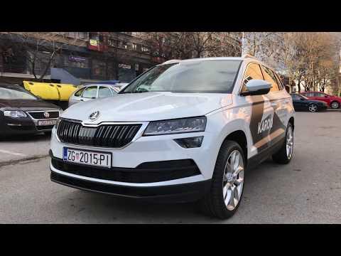 Škoda Karoq in depth review plus interior in dark with cool ambient lights! 4K
