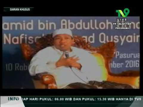 Gus Qoyyum ( KH Abdul Qoyyum ) Lasem ; Para waliyulloh & rejeki haram ; Hikmah haul Pasuruan