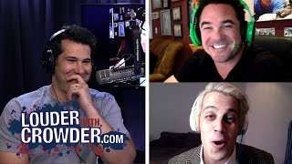Milo Yiannopoulos and Dean Cain Geek Out and Talk #GamerGate || Louder With Crowder