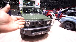Maruti Jimny 2019 Walk-around Review | Hindi | MotorOctane