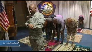 Pentagon'daki Kilisede Ezan Sesi