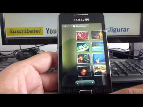 Como cambiar el tema fondo de whatsapp samsung Galaxy ace S5830 español Full HD