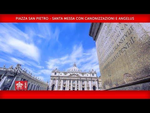 Papa Francesco - Piazza San Pietro - Santa Messa con Canonizzazioni e Angelus 2018-10-14