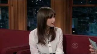 Felicity Jones on The Late Late Show with Craig Ferguson (12/21/2011)