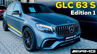 2019 MERCEDES AMG GLC 63 S FULL REVIEW 4MATIC+ Sound Exhaust Interior Exterior