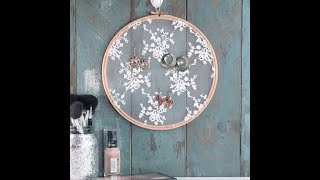 DIY Embroidery Hoops | 5 Minute Crafts
