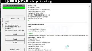 Audi A6 30tdi 230kw edc17cp44 server read CMD Flash Flashtec