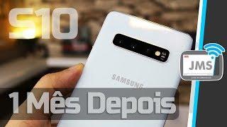Samsung Galaxy S10 2019 Minha OPINIÃO Após 1 Mês de USO - CanalJMS