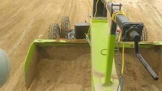 Farmtrack 60 t20 tractor RMP performance in computer earth leveler