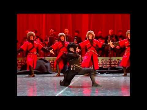 ¡Sorprendentes Danzas Rusas! - Lezginka del Cáucaso