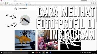 download lagu Tutorial Cara Melihat Foto Profil Instagram - How To gratis