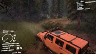 Hummer H3 в игре SpinTires