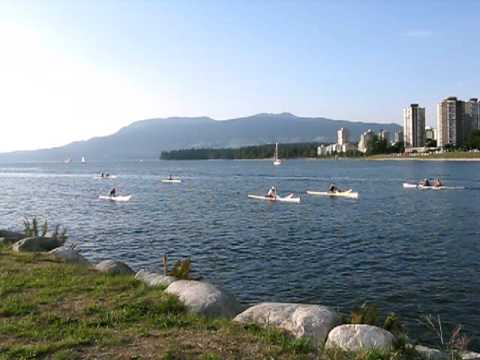 Marine Activity at Vanier Park