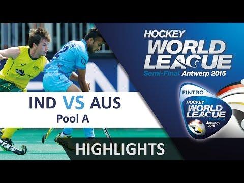 India v Australia Match Highlights - Antwerp Men's HWL 2015