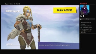 FORTNITE season 5 out now new skins and new vehicle mouse and keyboard stream