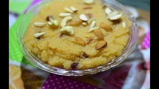 Sooji Ka Halwa Sweets Recipes (Indian Breakfast Recipes) @ Guru's Cooking
