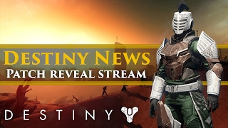 Destiny news - Investor call = Update News? Hotfix 2.5.0.2. Stream! DestinyCon Trademarked!