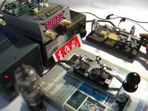 Homebrew SW40 CW Transceiver with OH2XX